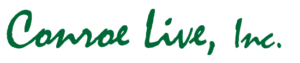 Conroe Live, Inc. text logo
